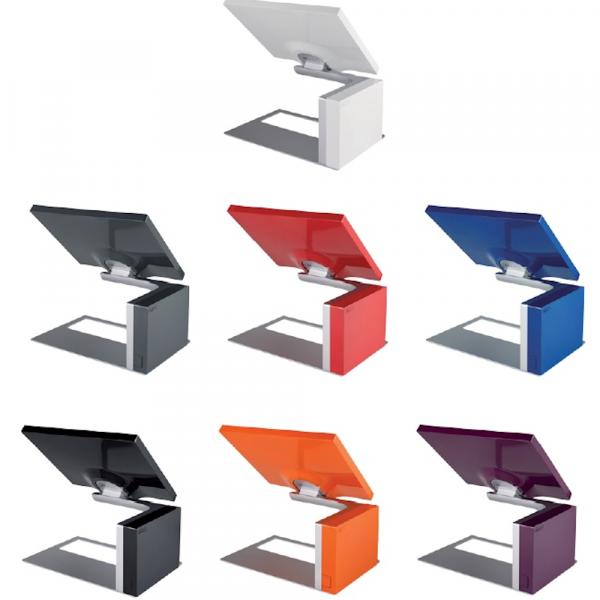 Choix de coloris des caisses pour pressing